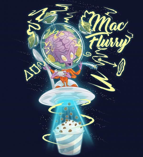 MAC Flurry Feminised Cannabis Seeds - Penthouse Cannabis