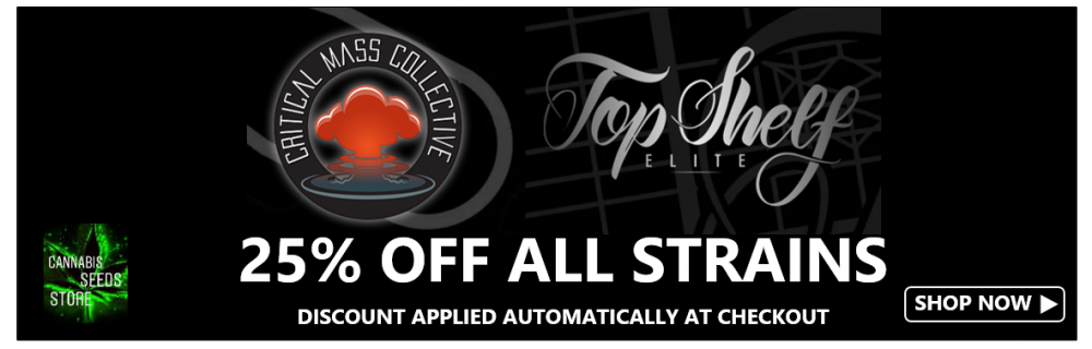 25% Off Top Shelf Elite - Cannabis Seeds Store