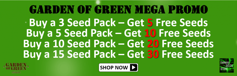 Garden of Green Mega Promo - Cannabis Seeds Store