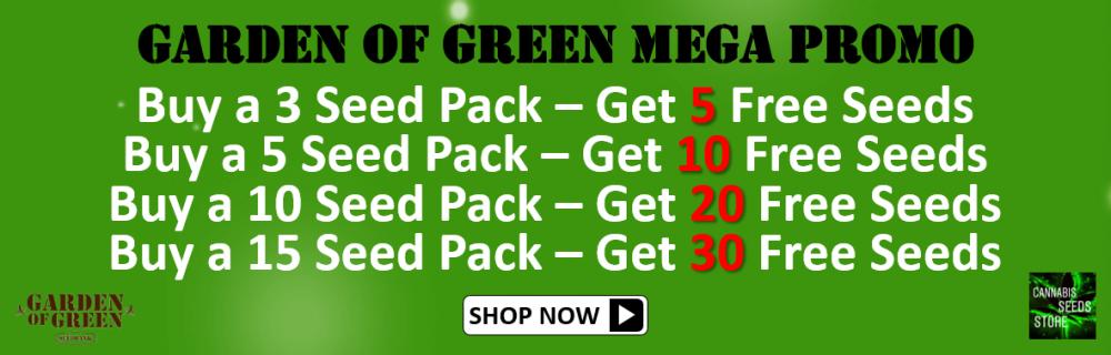Garden of Green Mega Promo - Cannabis Seeds Store