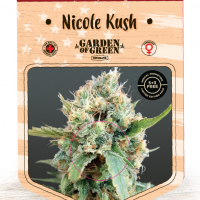 Nicole Kush Feminised Cannabis Seeds   Garden of Green