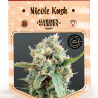 Nicole Kush Feminised Cannabis Seeds | Garden of Green